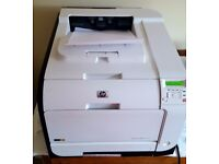 HP Laserjet Pro Color M451dn Laser Network Printer and 3 Brand New HP Ink Cartidges