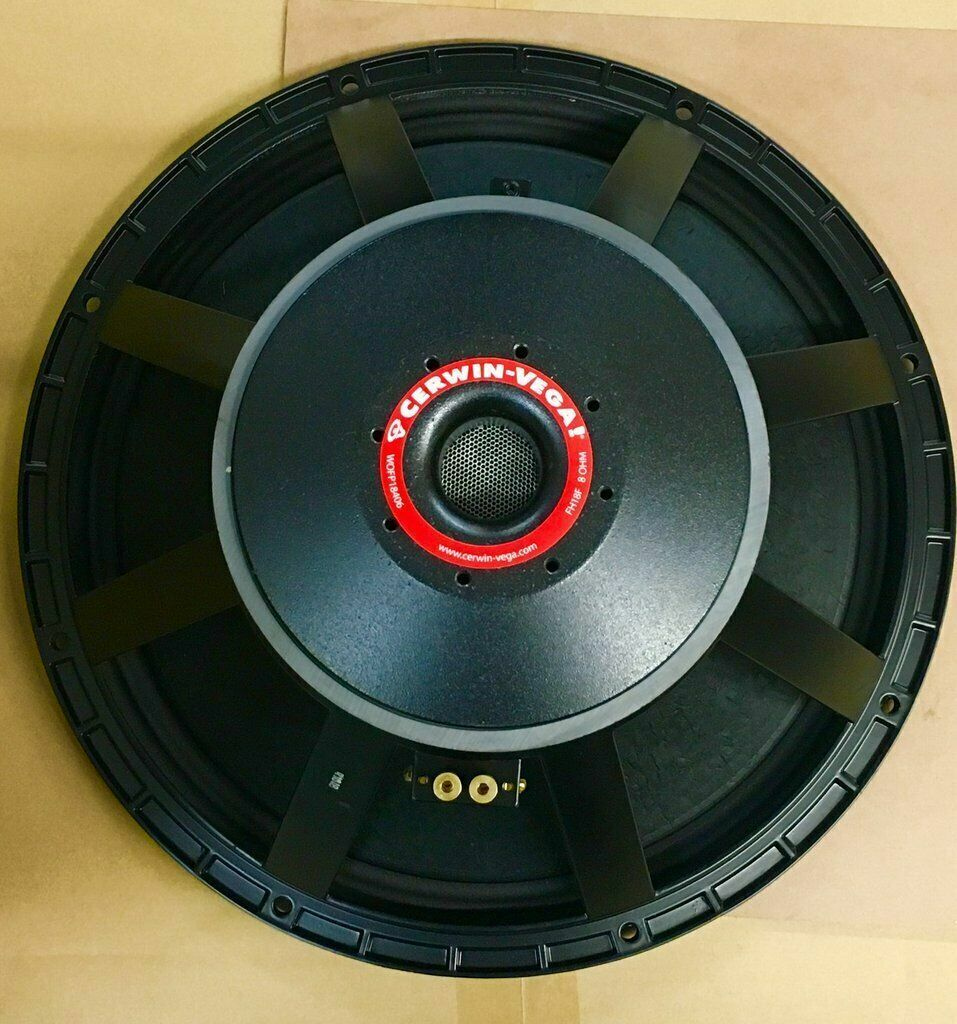"""Cerwin Vega 18"""" Woofer FH18F 4SVC 8 OHM WOFP18406 Replacemen"""