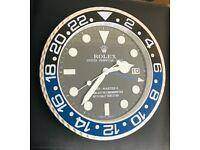 Rolex wall clocks, Tel 07884-015528, Best Quality Metal Clocks