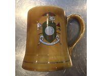 Wade Golfing pint mug dating from the 1960s.