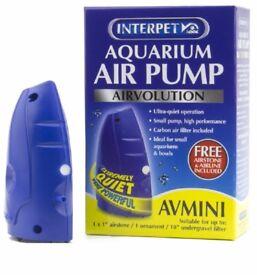 Interpet Airvolution Aquarium Air Pump – Mini