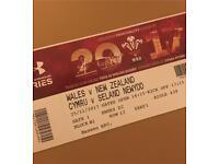 5x Wales v New Zealand Tickets
