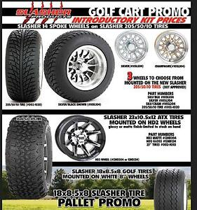 Golf Cart Wheels Rims - Tires - Batteries - Lowest PRICES CANADA Kingston Kingston Area image 2