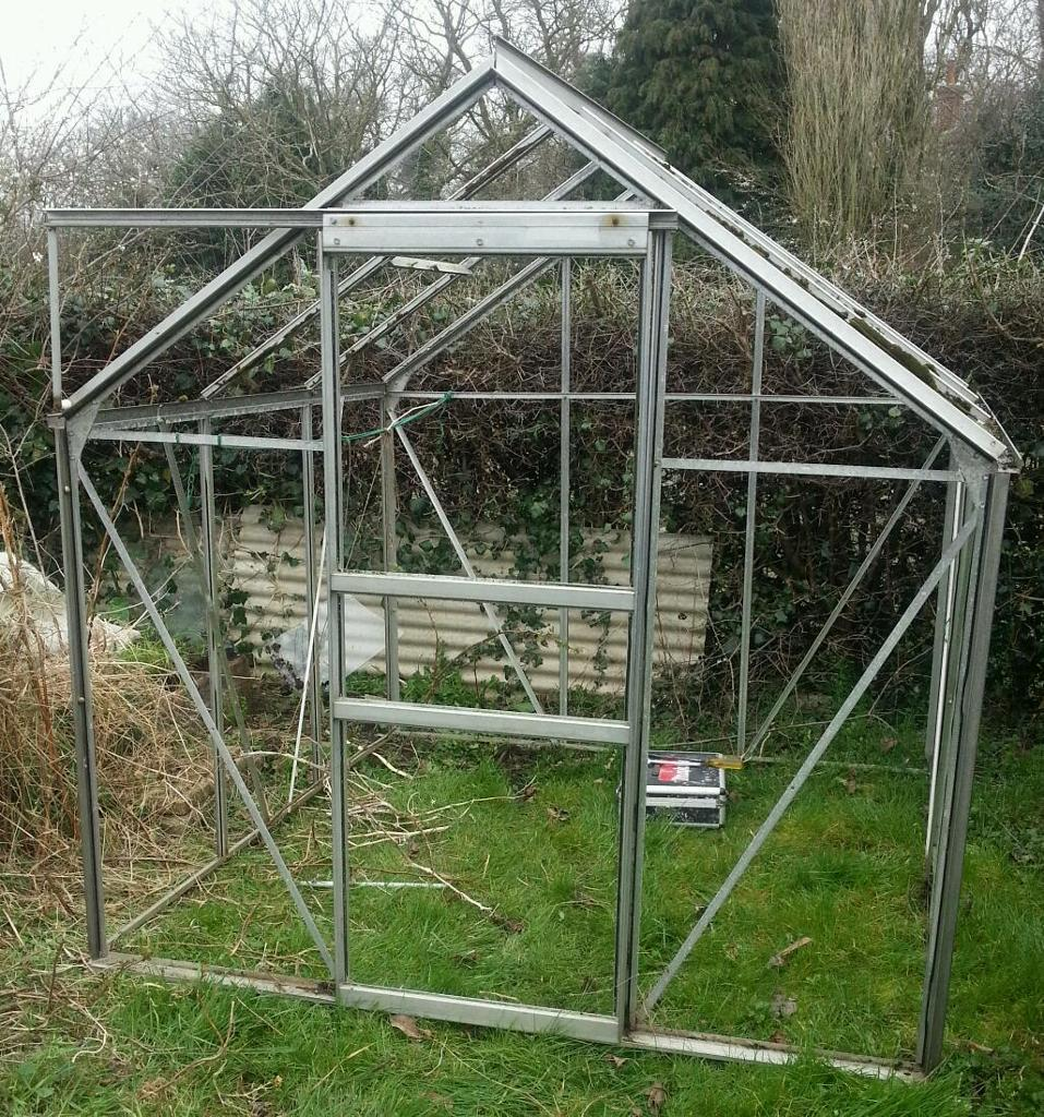 6x6 greenhouse frame only | in Norwich, Norfolk | Gumtree