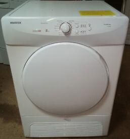 HOOVER 8KG CONDENSER TUMBLE DRYER IN GOOD WORKING ORDER