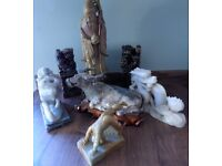 Mixed Lot of 7 Chinese Soapstone Ornaments
