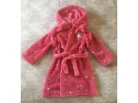 Hello Kitty dressing gown, age 2-3, M&S