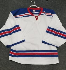 New York Rangers Goalie Cut Practice Jerseys