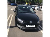 VW POLO BLACK 2010 QUICK SALE £3795