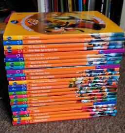 Disney Wonderful World of Knowledge Book Set of 24 Childrens Educational Collection