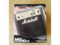 Marshall Amp MG series 10cd 10 watts