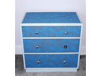 SET OF DRAWS - FRENCH SHABBY CHIC STYLE - SELLER REFURBISHED