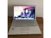 Apple MacBook Pro 2.2GHz C2D 4GB RAM 120GB HDD A1226 Mid 2007