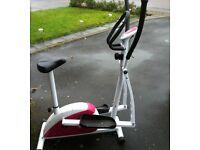 Davina 2 in 1 bike/cross trainer