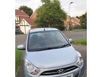 Hyundai i10 1.2 2012(62), 12 mths MOT, 18000 miles, Manual, Hyundai FSH, 1 lady owner
