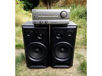 Great sounding 3-driver Sony amplifier and speaker set