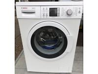 Bosch exxcel 8KG varioperfect washing machine free delivery