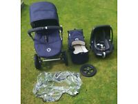 Bugaboo cameleon 3 navy limited edition with pebble carseat