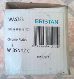 Bristan – Clicker – Basin Waste – (W BSN12 C/G/SAT/ST)