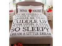 """"""" Mine and Yours Duvet Set"""""""