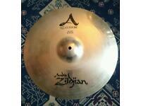"Zildjian A custom 16""/40cm crash"