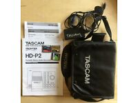 Tascam HD-P2 Professional High Definiton 192 KHz portable stereo recorder