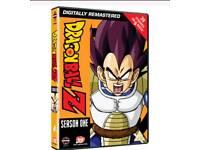 New/sealed Dragon Ball Z Complete season one DVD set
