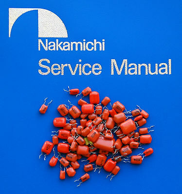 Nakamichi DRAGON Replacement Orange Capacitor Kit for sale  Shipping to United States