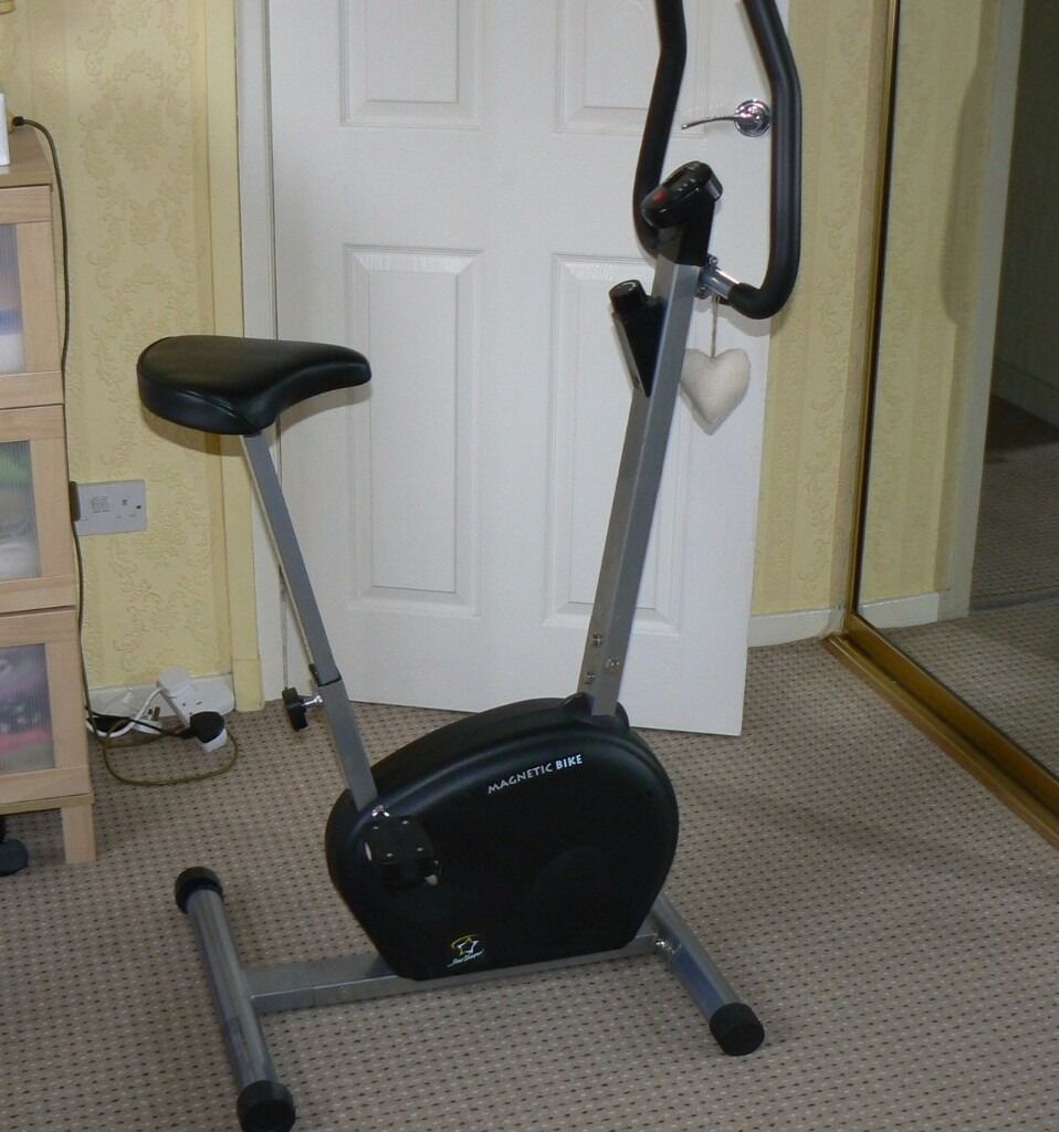 Star Shaper Magnetic Exercise Fitness Bike in great working order and conditionin Whitburn, West LothianGumtree - Hardly used (unfortunately D D ) , so it is perfect condition and working order. It is the ideal beginners exercise bike that will help you lose weight, tone up, burn calories and its perfectly suited to the home environment. Its smooth and quiet in...