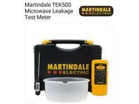 *BRAND NEW* MARTINDALE TEK500 MICROWAVE LEAKAGE TEST METER