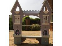 Fairy castle shelving/ storage unit