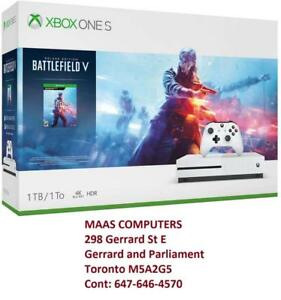 **BLACK FRIDAY DEAL**  Xbox One S ; 1 TB; Available in Battlefield V Bundle and NBA 2K19 Bundle ; Brand New