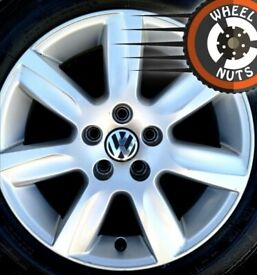 """15"""" Genuine VW Polo alloys 5x100 excel cond match tyres."""