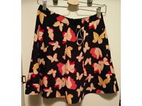 Oasis Butterfly Skirt, size 8