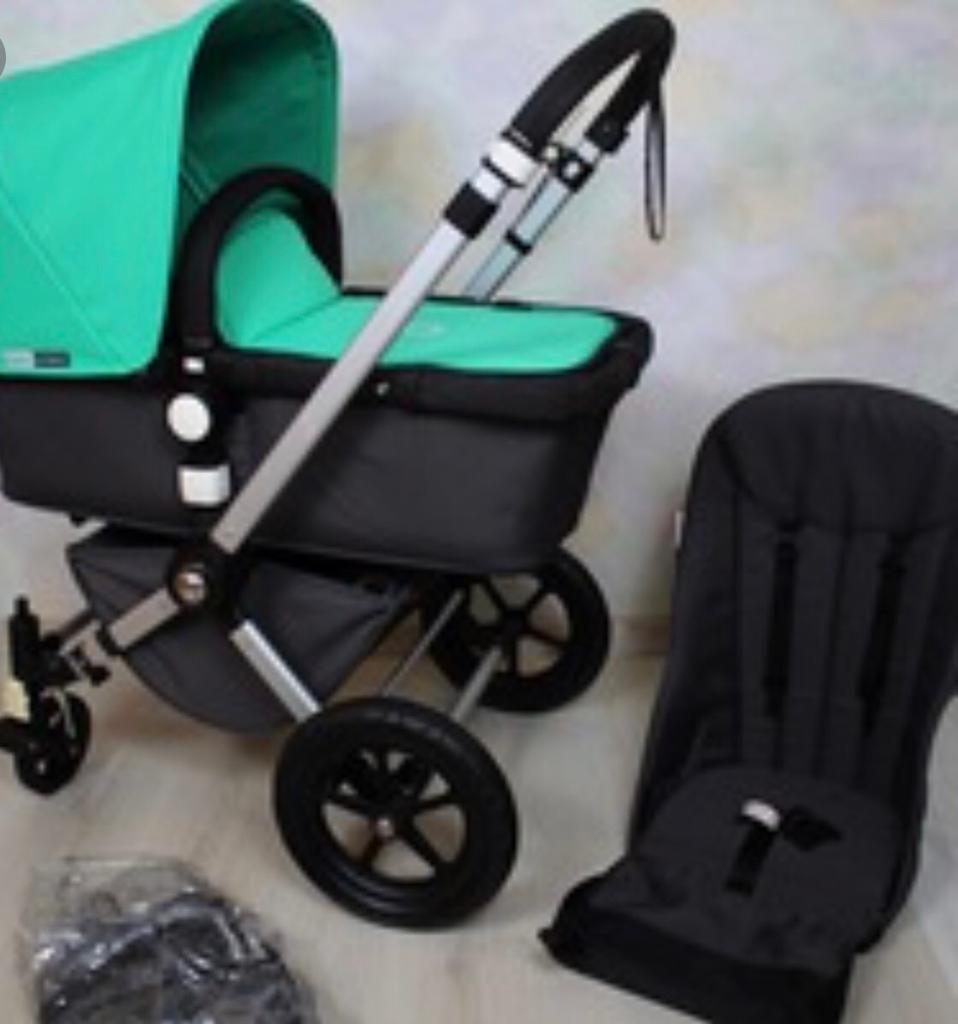 Bugaboo Cameleon With Car Seat Travel System Pram Buggy Pushchair Stroller
