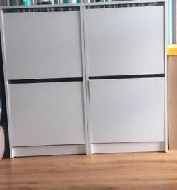 Ikea shoe cabinet x2