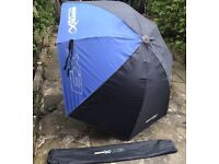 Large matrix X3 125cm Umbrella - Fishing Brolly with Bag MINT CONDITION