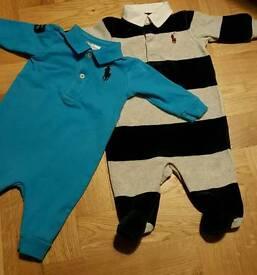 Ralph Lauren baby boy outfits, 3month