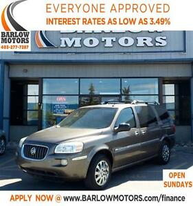 2005 Buick Terraza CXL REAR ENTERTAINMENT**IN HOUSE FINANCING**