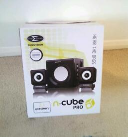 Sumvision n cube pro 2.1 sound system