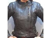Belstaff ladies leather jacket (s10)