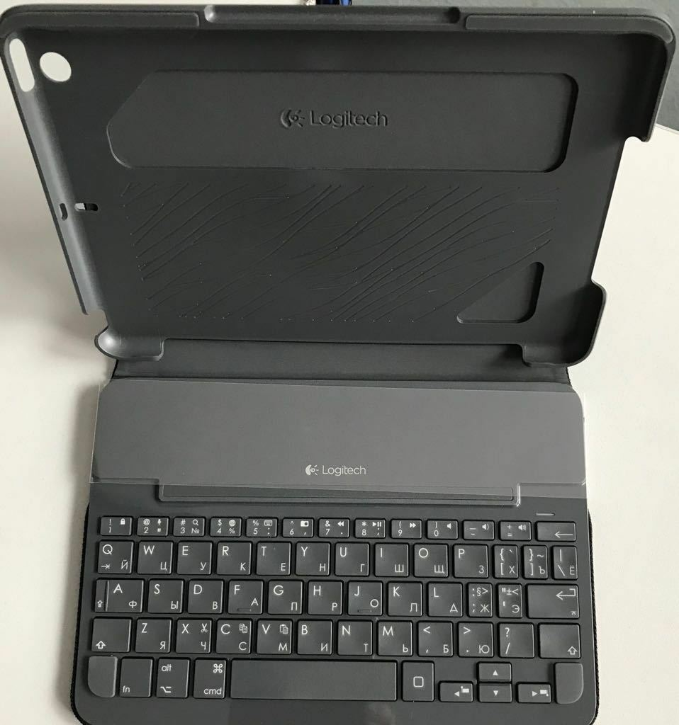 Logitech Ultrathin Tastatur Cover für iPad Mini Mini 2 iPad Mini 3 QWERTY 007615