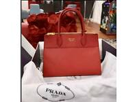 PRADA Bag Genuine leather