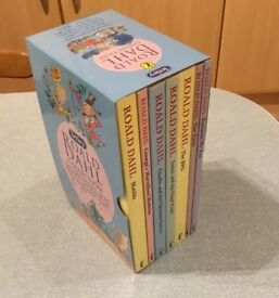 Set of 7 Roald Dahl Books