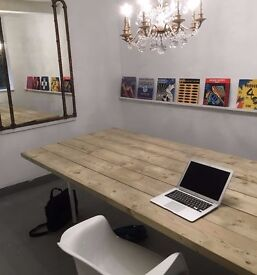 Short term home office / desk space can be hired during the day Marylebone