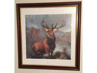 'Monarch of the Glen' Framed Picture - Art - Sir Edwin Landseer Print