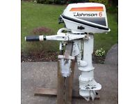 Outboard Engine Johnson 6 Seahorse Long Shaft