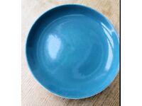 Blue Poole Moon side plates
