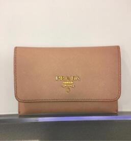 Genuine Prada card holder purse