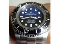 *Boxed with paperwork* James Cameron Deepsea Seadweller Rolex